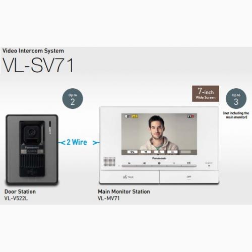 Bộ chuông cửa màn hình màu PANASONIC VL-SV71VN