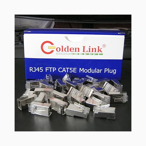 Đầu bấm mạng-Modular Plug Golden Link CAT5E FTP