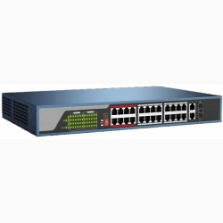 24-port 10/100Mbps PoE Switch HDPARAGON HDS-SW1024POE/M