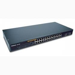 24-port Ethernet, 2-port Gigabit Switch D-Link DES-1026G/E