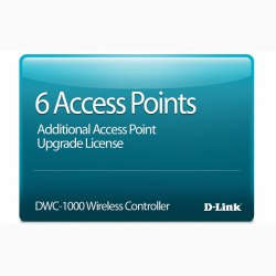 6 Access Point Upgrade License D-Link DWC-1000-AP6-LIC