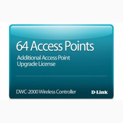64 Access Point Upgrade License D-Link DWC-2000-AP64-LIC