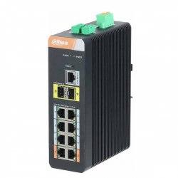 8-Port 10/100/1000Mbps PoE Switch DAHUA PFS4210-8GT-DP