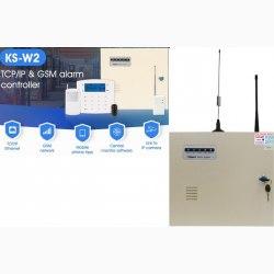 Báo trộm có dây và không dây KARASSN KS-W2E
