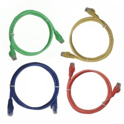 Cáp mạng Lan đúc sẵn Dintek 0.5 mét - Patch cord Dintek CAT.5E UTP 0.5 mét
