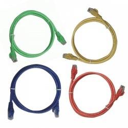Cáp mạng Lan đúc sẵn Dintek 1 mét - Patch cord Dintek CAT.5E UTP 1 mét