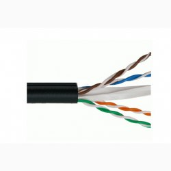Cáp mạng VCOM CAT5E FTP SS vỏ PVC - cuộn 305 mét(L541007)
