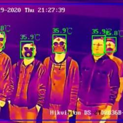 Giải pháp hệ thống camera đo thân nhiệt