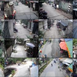 Lắp đặt camera quan sát tại khu phố