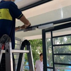 Lắp đặthệ thống access control - kiểm soát cửa ra vào kết hợp chấm công