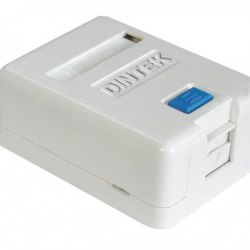 Ổ mạng nổi 1 port Dintek - Surface mount box