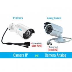 Sự Khác Nhau Giữa Camera IP Và Camera Wifi Không Dây