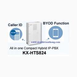 Tổng đài Panasonic KX-HTS824 08 line vào-16 máy ra