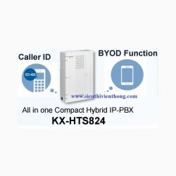 Tổng đài Panasonic KX-HTS824 08 line vào-24 máy ra