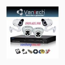Trọn bộ camera FULL HD VANTECH